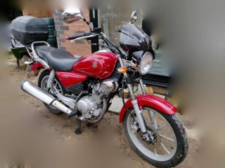 Yamaha, YBR125 Custom, Red