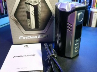 Thinkvape Finder DNA250C Box Mod in Silver/Black vape vaping vaporiser Wandsworth, London )