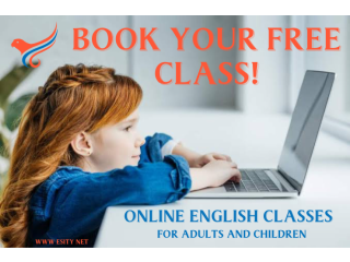 Book Your Free English Class Today!!