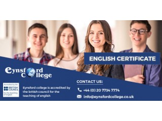 How to get the English Certificate courses in London