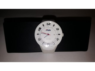FILA UNISEX WHITE QUARTZ WATCH
