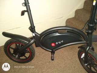 Electric scooter dyu d3f