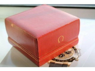 Omega vintage watch box.