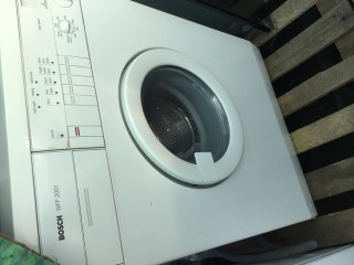 Bosch 5kg 1000 Spin Washing Machine with Hot & Cold Plumbing
