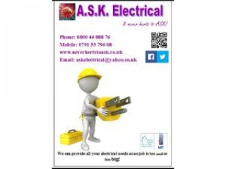 A.S.K. Electrical, the friendly electrician!