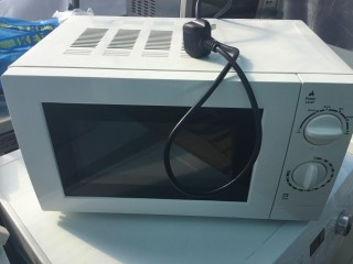 George White 700w Microwave