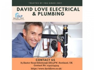 Edinburgh Plumber - David Love Electrical & Plumbing