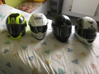 3 As New Shark Crash Helmets