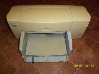 Hewlet Packard Deskjet 720C Printer and Medion Flatbed Scanner.