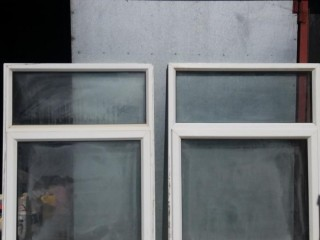 2 used upvc windows,not needed as extension is built.
