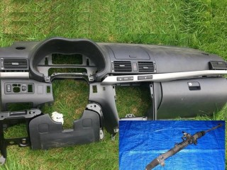 Left hand drive dashboard and conversion parts Toyota Avensis T25 2003-2009
