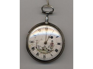 18th Century Masonic verge watch circa 1767 in working order