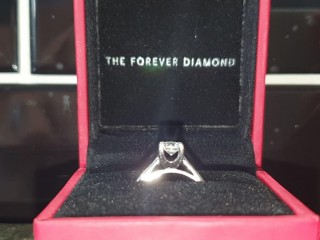 H Samuel Forever Diamond engagement ring