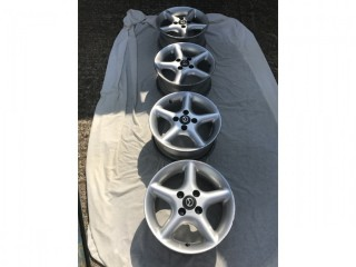 Set of MX5 alloy wheels