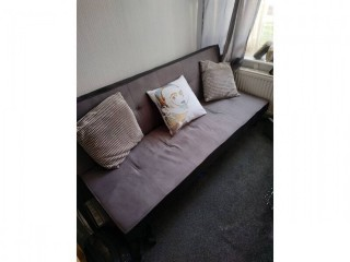 Sofa bed, nine months old. Leaving country, so selling