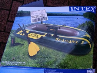 INTEK 68347 2-man Inflatable dingy with oars