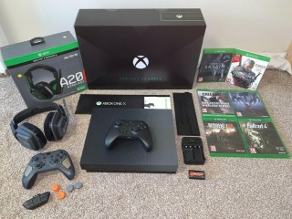Xbox One x Scorpio Edition 1TB Bundle