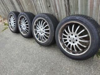 Ford Ranger Alloy Wheels With Tyres