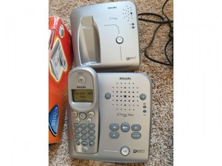 Philips Onis Vox 300 Telephone answering machine with additional base station