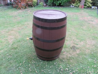 Old Whiskey Barrel