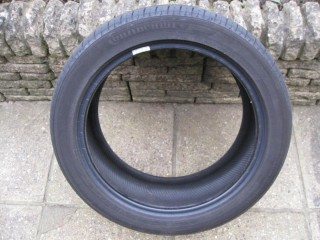 CONTINENTAL SPORT CONTACT 5 225/45/R17 91Y PART USED TYRE 5.76MM TREAD MO MERCEDES ORIGINAL