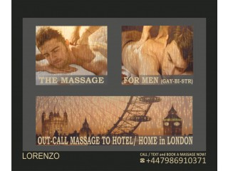 FULL BODY MASSAGE BY MALE MASSEUR FOR MEN - CALL TO YOUR HOME / HOTEL IN LONDON