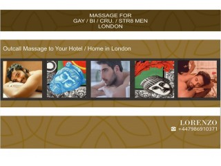 ★FULL BODY MASSAGE for MEN by ★MALE MASSEUR OUT CALL to Your HOTEL / HOME in London