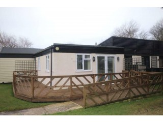 1 Bedroom Chalet for Sale,on edge of site, short walk to beach on Holiday Medmerry Park West Sussex