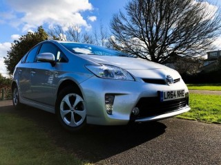 TOYOTA PRIUS T3 HYBRID LEATHER INTERIOR UK CAR EURO 6 2014 64 PLATE