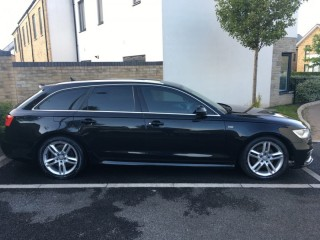 Audi A6 AVANT 2.0TDI S LINE 6 speed manual