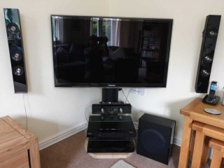 For sale, Samsung HT-C5550 5.1 ch Blu-Ray Home Cinema system