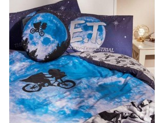 E.T. single and double duvet sets (NEW) Reversible