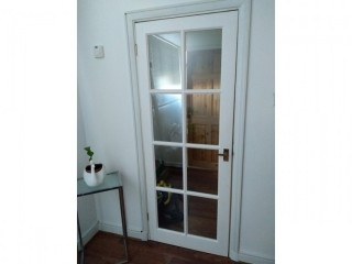 3 Internal clear glazed doors