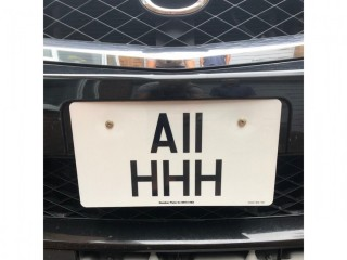 A11HHH registration for sale - on retention certificate. Ahhhh!
