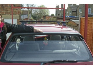 VW Mk3 rear window spoiler.