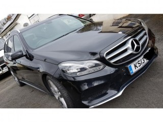 Mercedes E-class Estate 2013 Black AMG Parktronic Active Assist FMSH