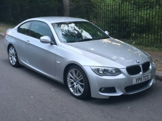2011 BMW 320D MSPORT COUPE - FULL BMW SERVICE HISTORY - MOT JULY 2021