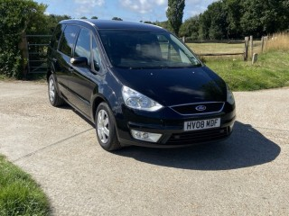 Ford Galaxy LX TDCi, 08 reg, Diesel, panther black, 7 seater