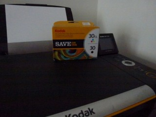 Kodak 30 colour and black printer cartridges