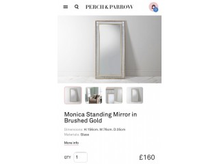 Perch & Parrow mirror