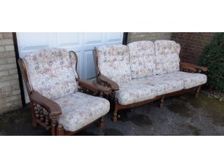 2 Armchairs & Settee, will sell separately