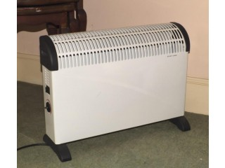 2kw White Thermostatic Electric Convector Room Heater - used excellent condition