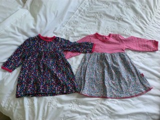 JoJo Maman Bebe & Baby Boden 6/12 Months Baby Girls Clothes Bundle In Excellent Condition!
