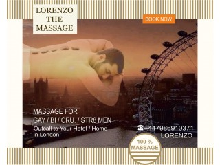 MASSAGE by MALE MASSEUR FOR MEN | MOBILE to Your HOTEL / HOME in London