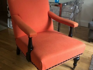 Eichholtz Armchair - Orange - *Good as New* - Originally purchased for £900