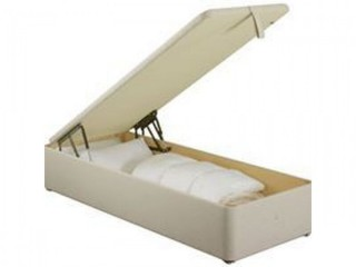 """Ottoman 2ft 6"""" single storage bed with mattress"""