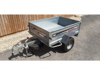 Erde 142 trailer with High Top cover and frame