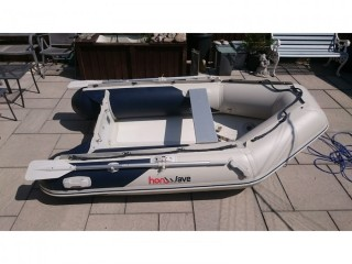 INFLATABLE DINGHY HONWAVE T27 2.7M DINGY TENDER RIB SIB BOAT