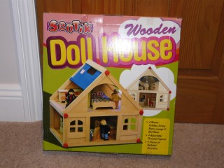 Ideal for kids indoors! Brand new Child's wooden dolls house by Sentik