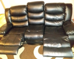 bonded-leather-3-seater-recliner-sofa-east-london-london-small-0